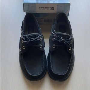 NEW Black Sperry Shoes